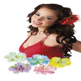 Pince à cheveux fleurs Hibiscus