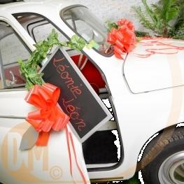 Noeuds automatiques pour décoration de voiture