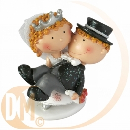 Figurine couple de mari�s KISS