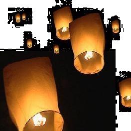 Lanterne céleste volante / Skylantern