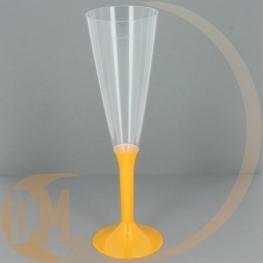 Fl�tes � champagne en plastique (par 20)