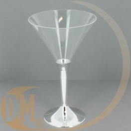 Verre à cocktail plastique jetable (Par 20)