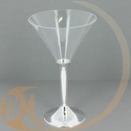 Verre à cocktail plastique jetable (Par 20)