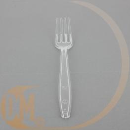 Fourchette lourde très résistante jetable en pvc