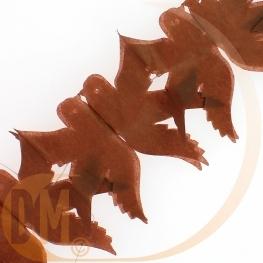 Guirlande colombes en papier