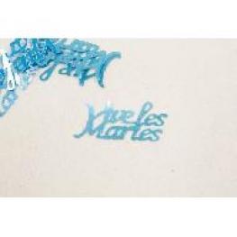 Confetti de table Vive les mariés