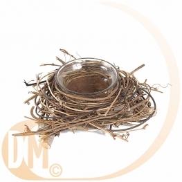 D�cor de table nature forme nid