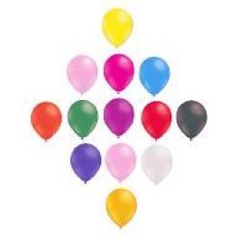 12 Ballons classique air ou helium