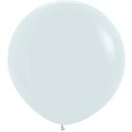 Ballon geant 1 mètre neutre
