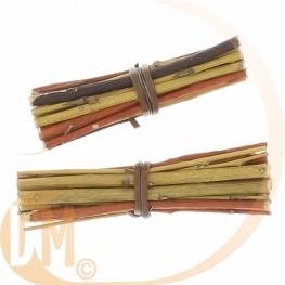 Fagot de bois pour la déco de table ( Par 5 ou 6 )
