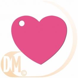 Etiquettes coeur (50)