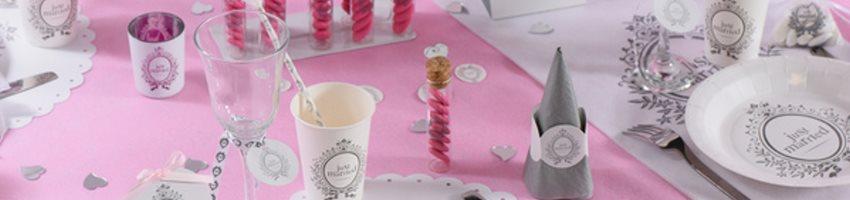 vaisselle jetable pour mariage achetez votre vaisselle. Black Bedroom Furniture Sets. Home Design Ideas